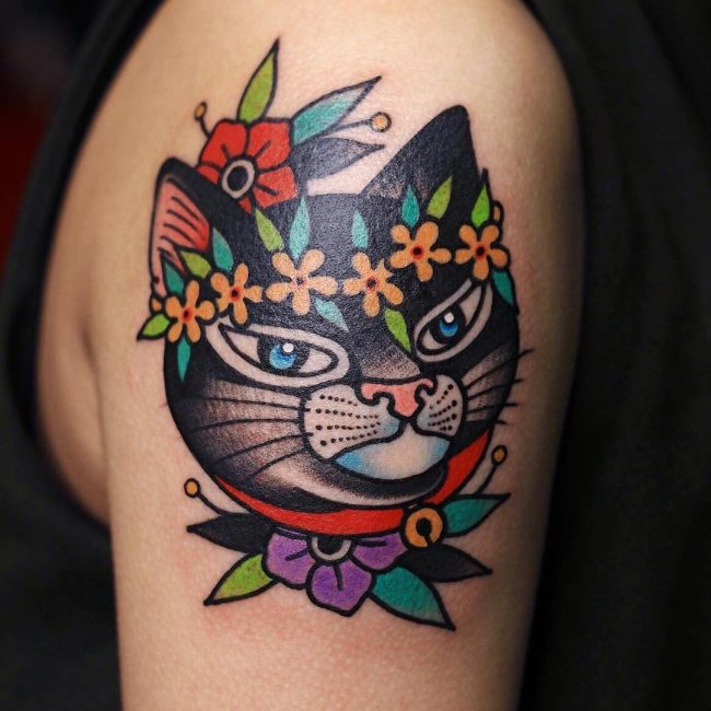 Black Cat Tattoo 52