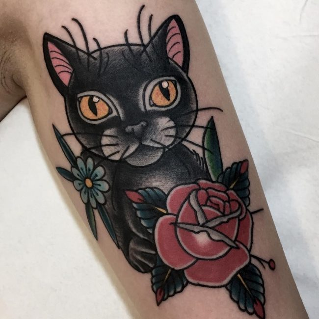Black Cat Tattoo 53