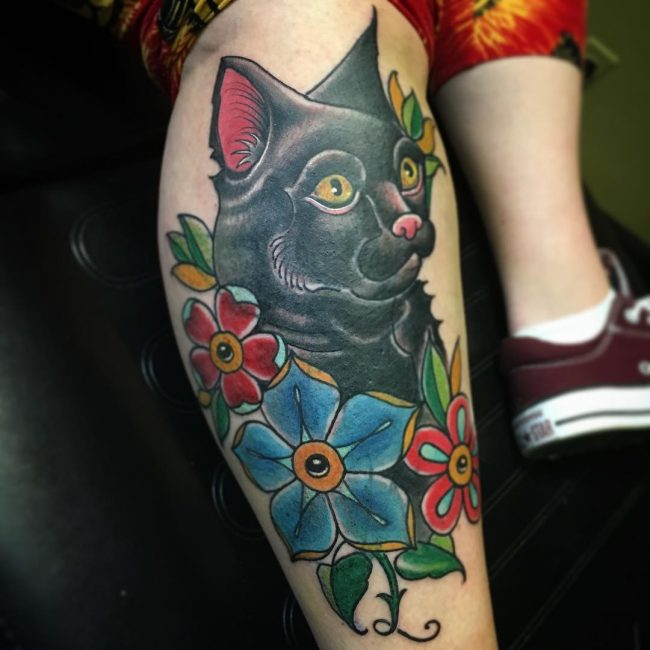 Black Cat Tattoo 54