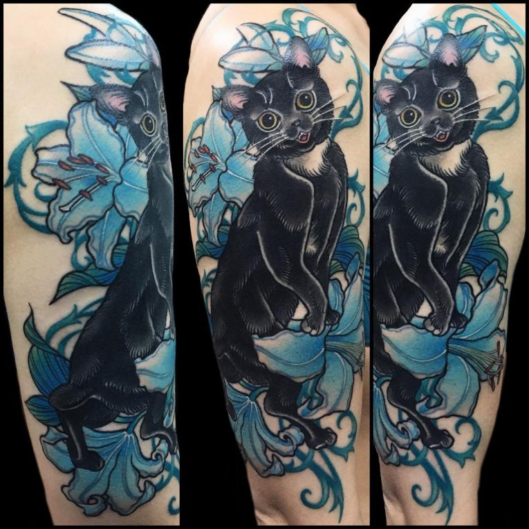 Black Cat Tattoo 57
