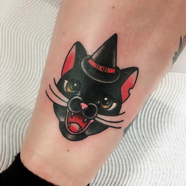 Black Cat Tattoo 62