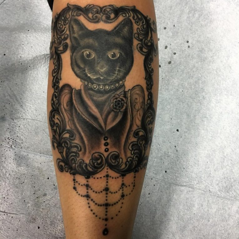 Black Cat Tattoo 64