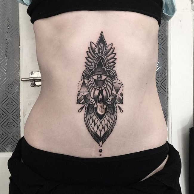 Blackwork Tattoo 82