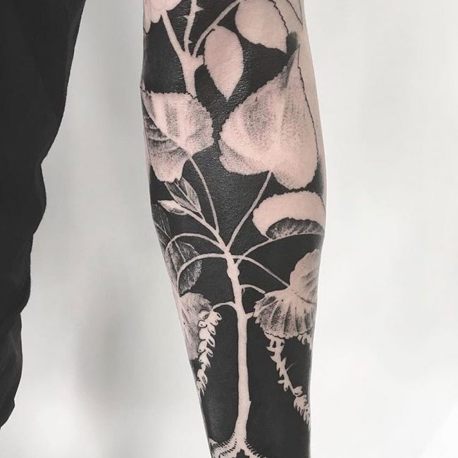 Blackwork Tattoo 85