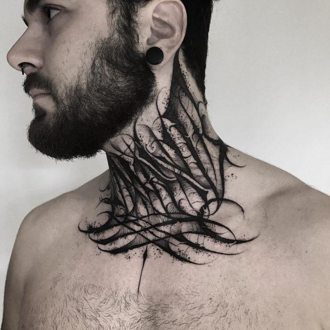 Blackwork Tattoo 86