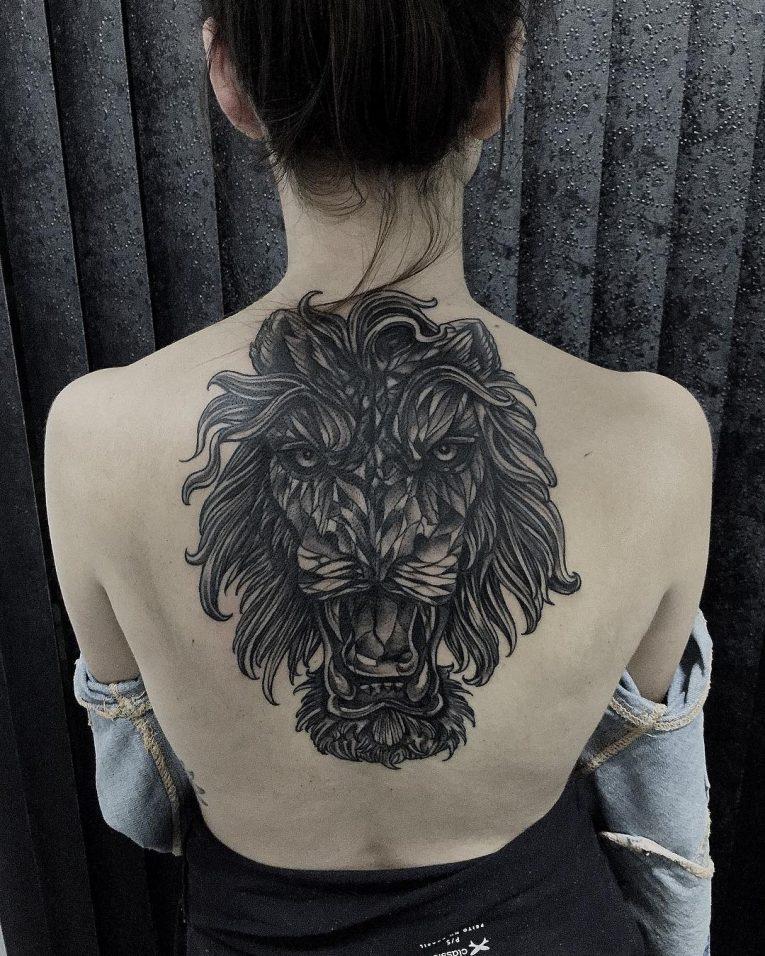 Blackwork Tattoo 91