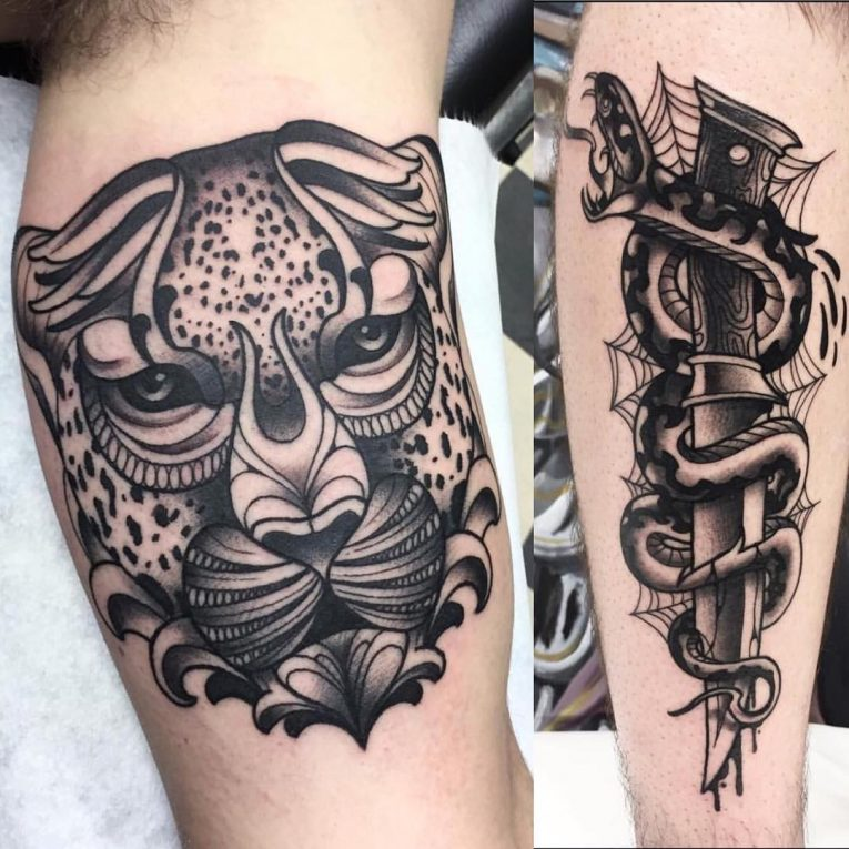 Blackwork Tattoo 99