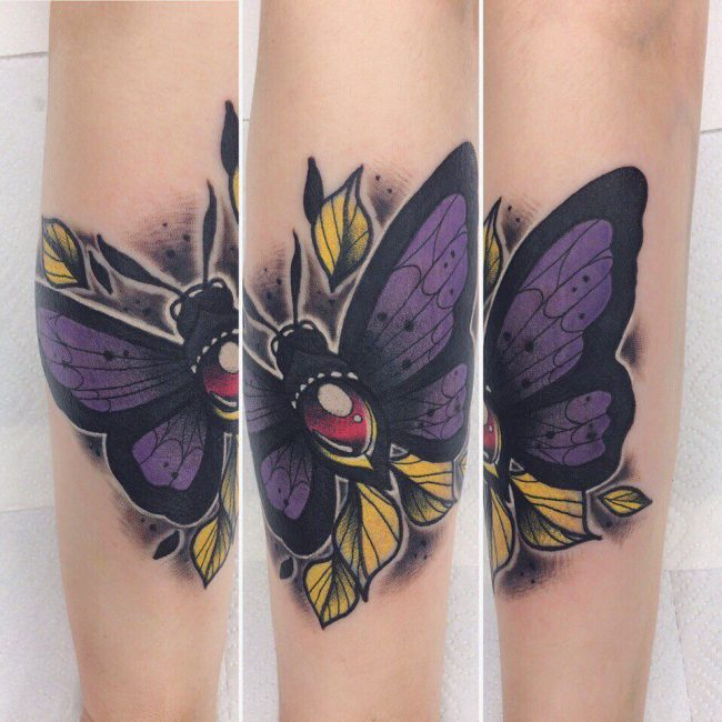 Butterfly Tattoo 100