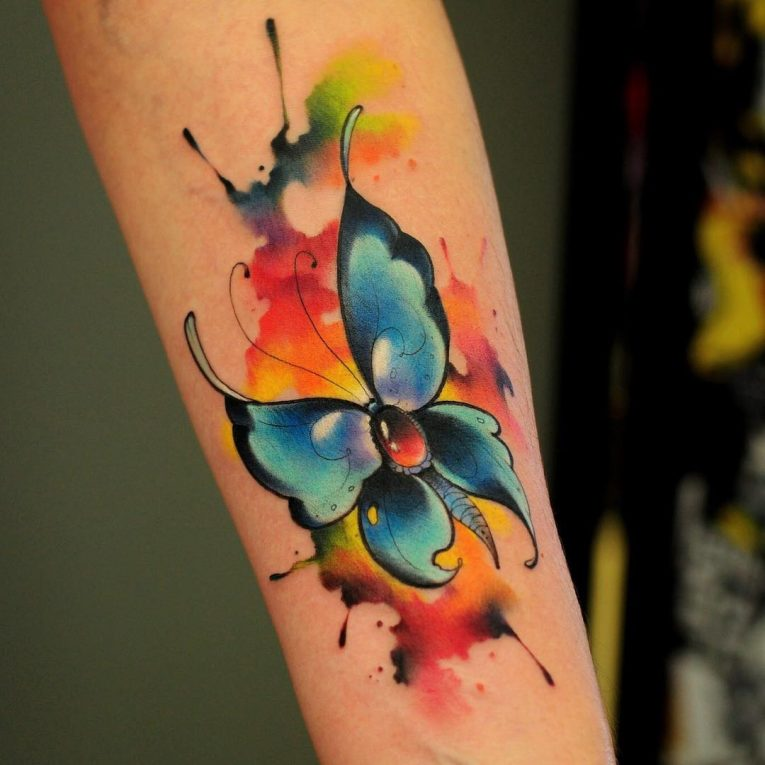 Butterfly Tattoo 106