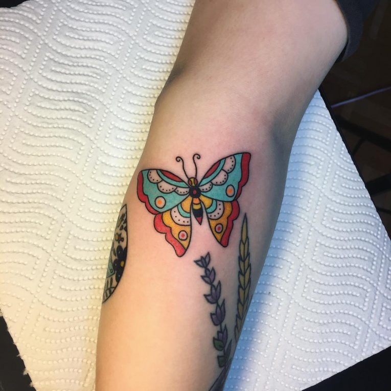 Butterfly Tattoo 108