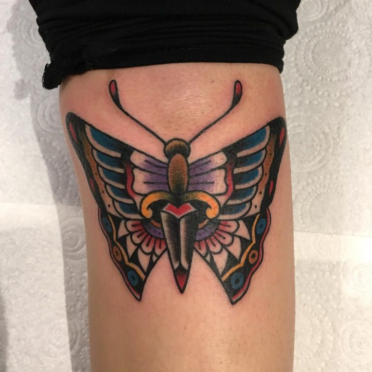 Butterfly Tattoo 112