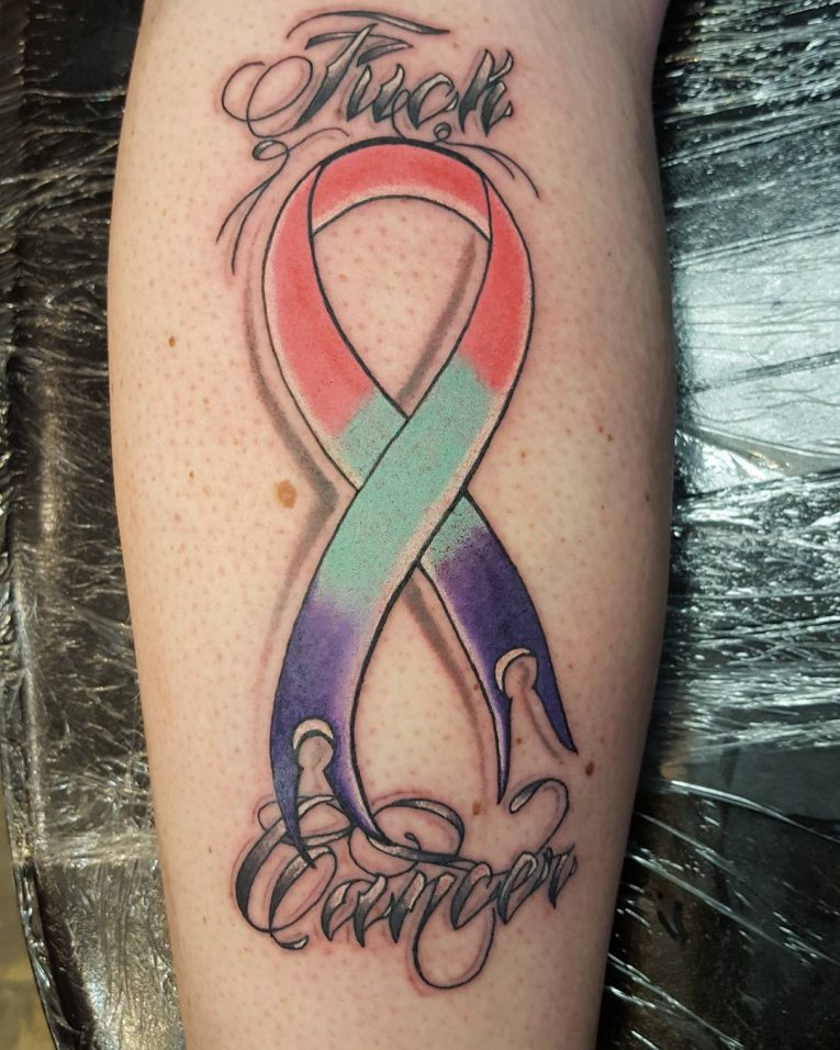 65 Best Cancer Ribbon Tattoo Designs Meanings 2018