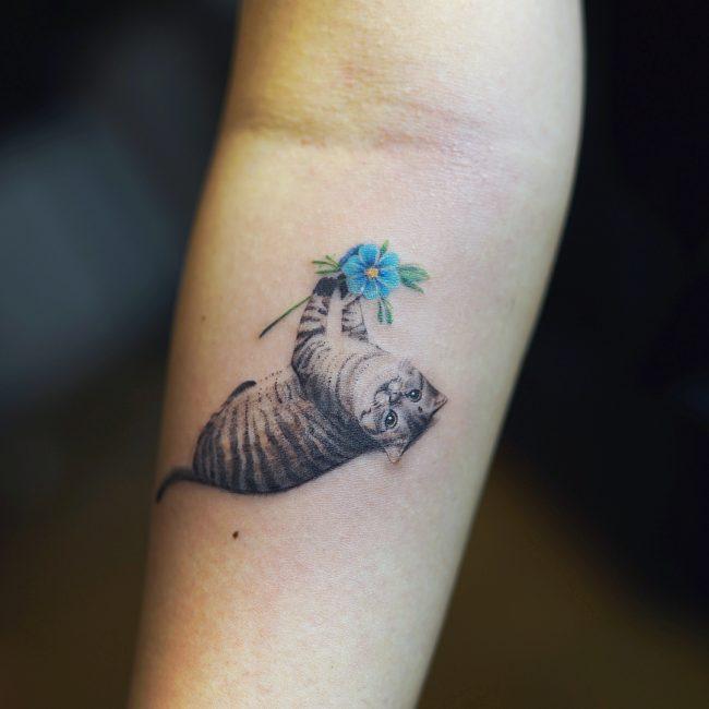 Cat Tattoo 61