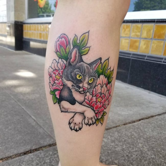 Cat Tattoo 62