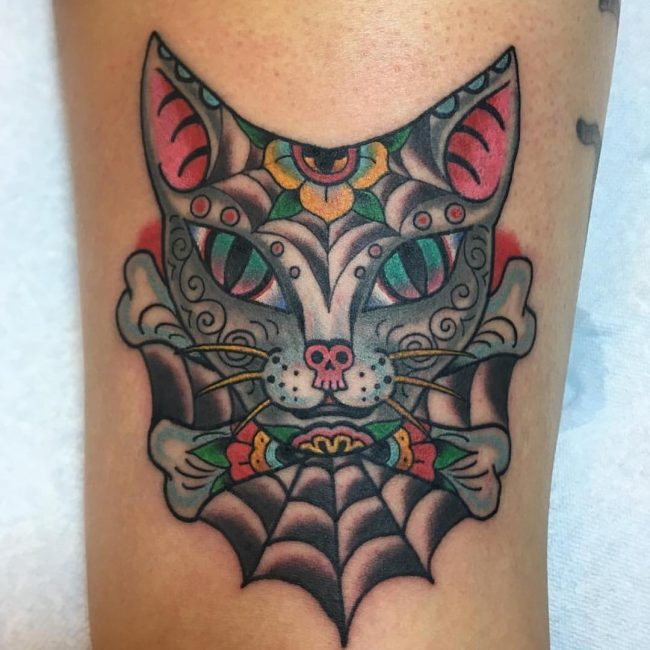 Cat Tattoo 63