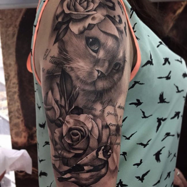 Cat Tattoo 64