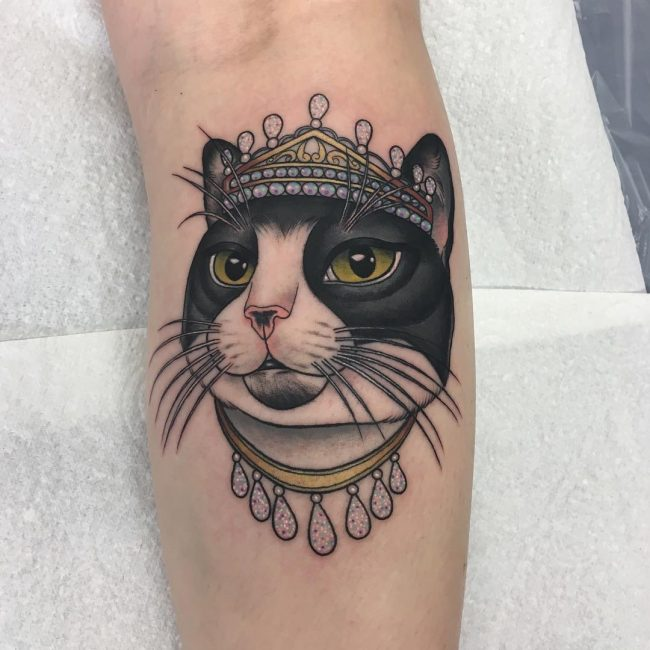 Cat Tattoo 65