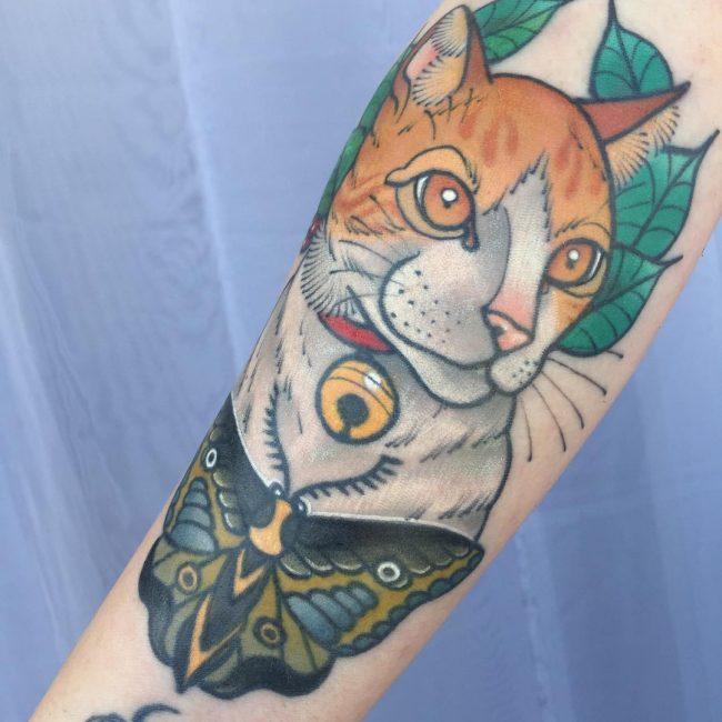 Cat Tattoo 67