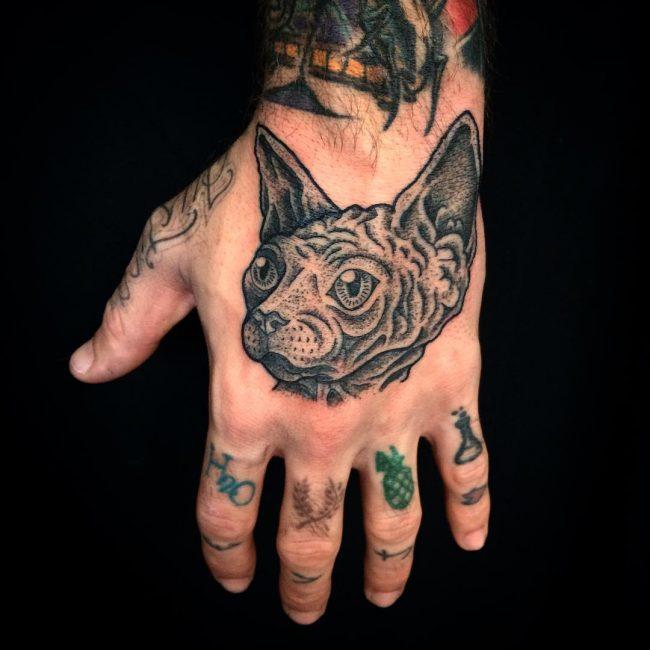 Cat Tattoo 69