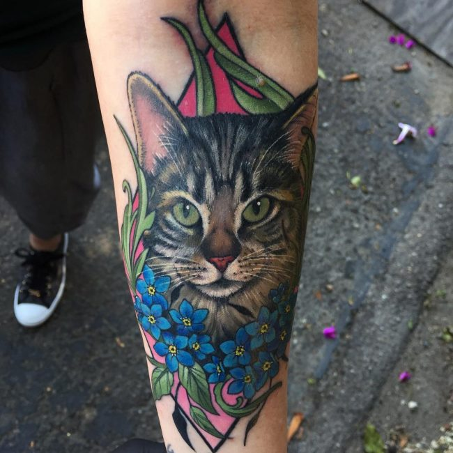 Cat Tattoo 70