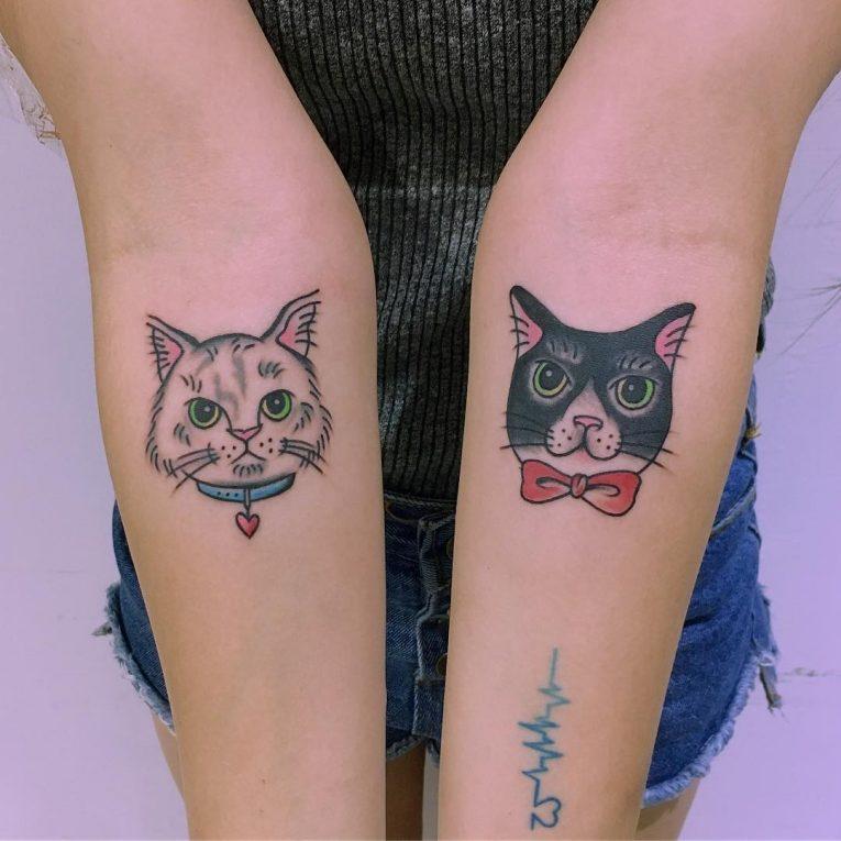 Cat Tattoo 72