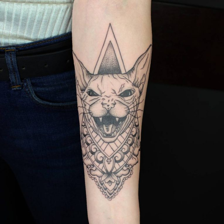 Cat Tattoo 74
