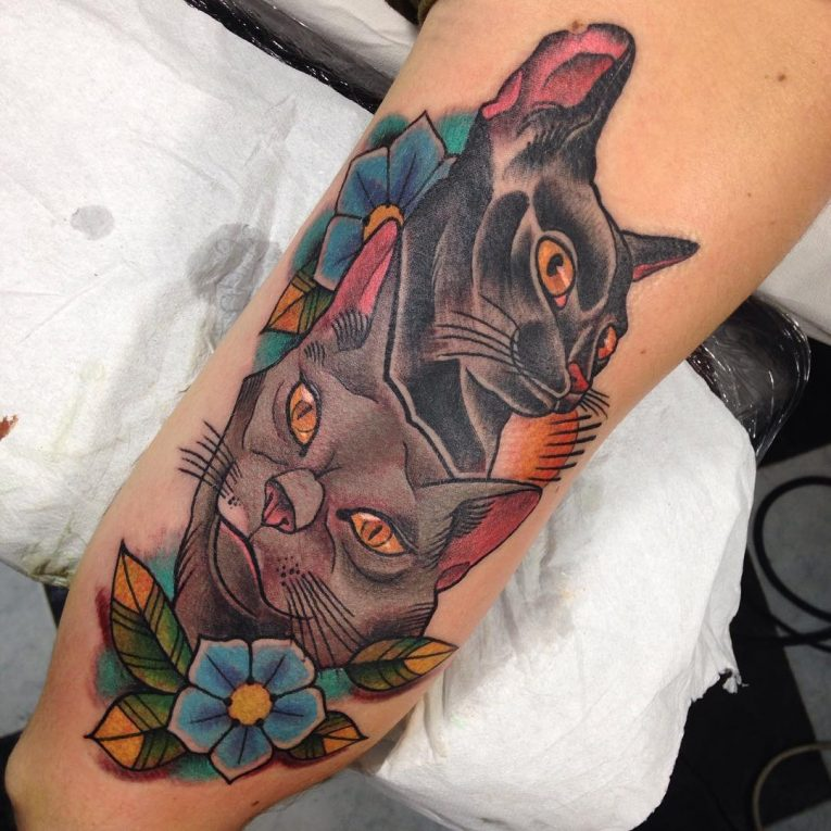 Cat Tattoo 76