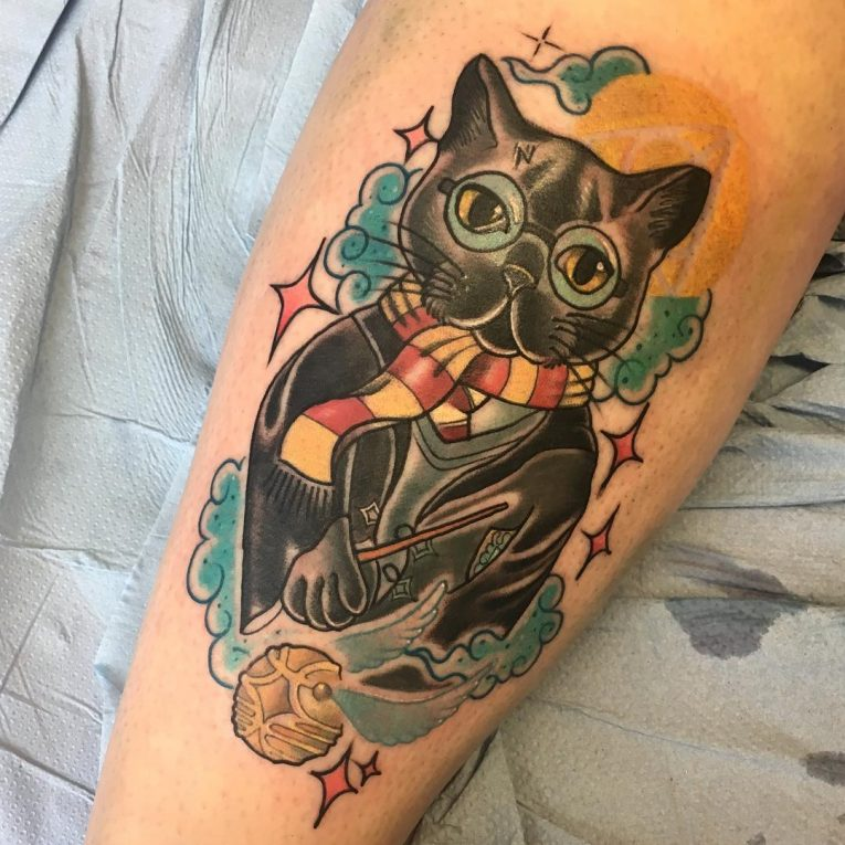 Cat Tattoo 77
