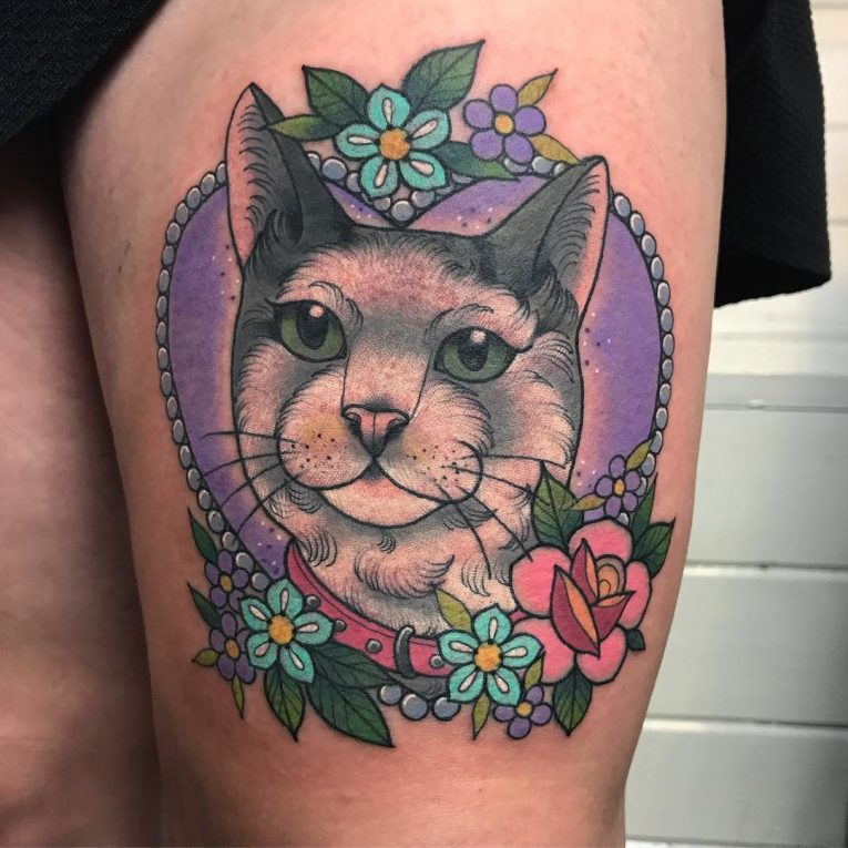 Cat Tattoo 79