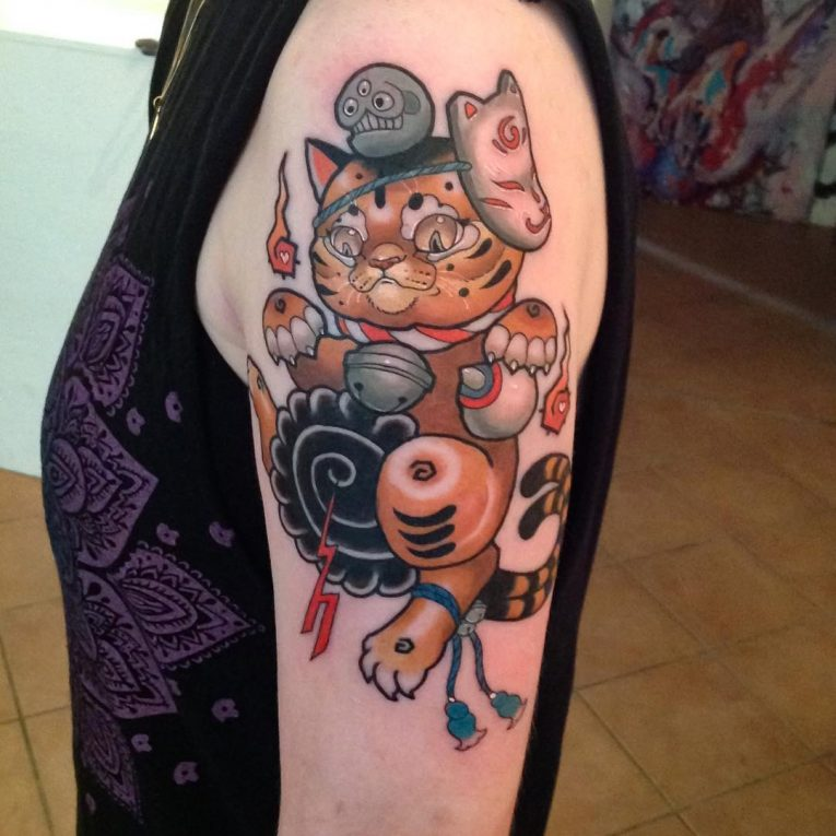 Cat Tattoo 81
