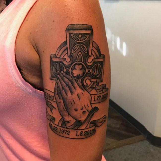 Celtic Cross Tattoo 68