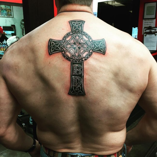 Celtic Cross Tattoo 71