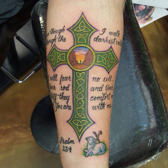 Celtic Cross Tattoo 74