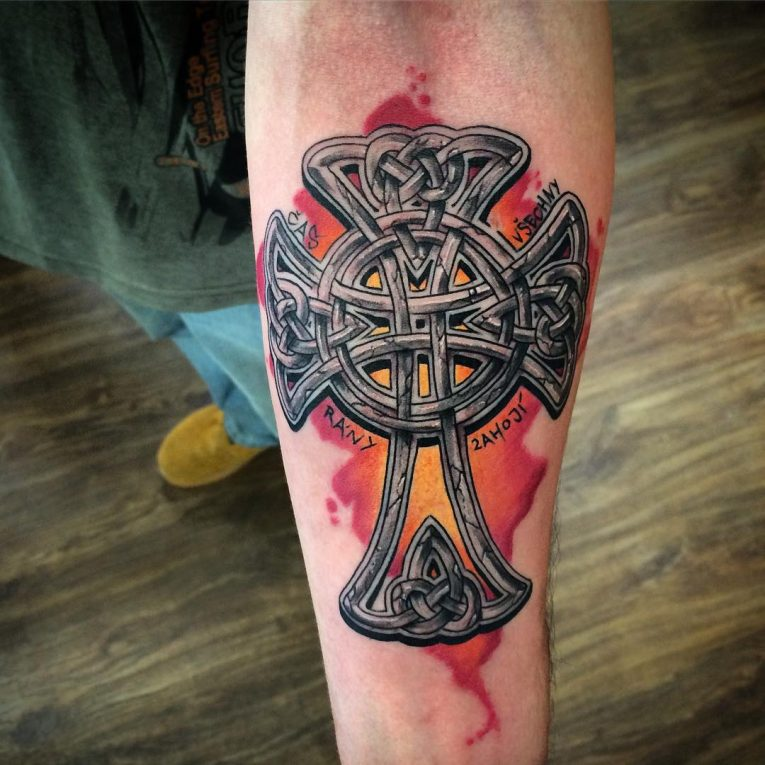 Celtic Cross Tattoo 81