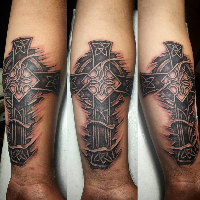 Celtic Cross Tattoo 83