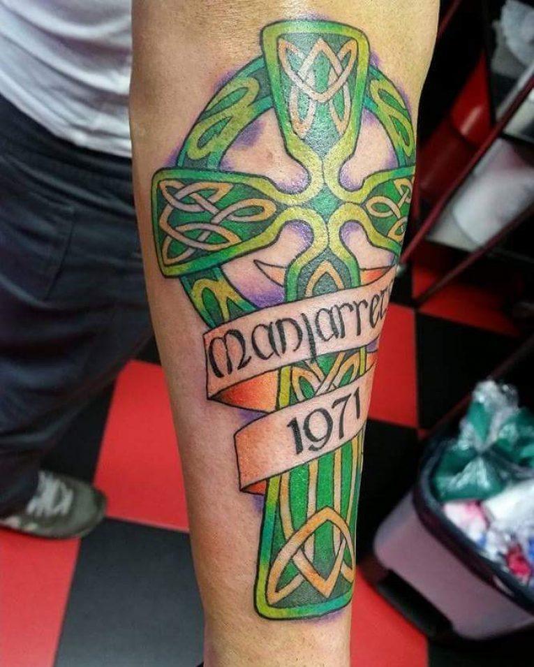 Celtic Cross Tattoo 85