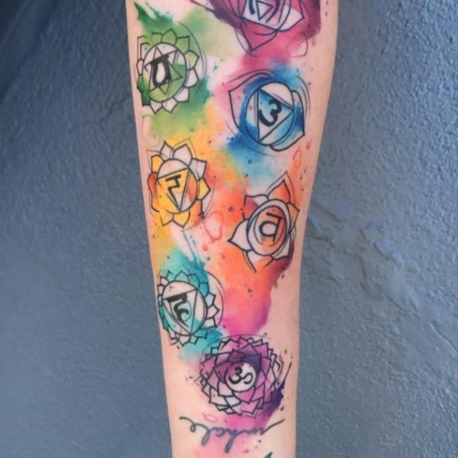 Chakra Tattoo 39