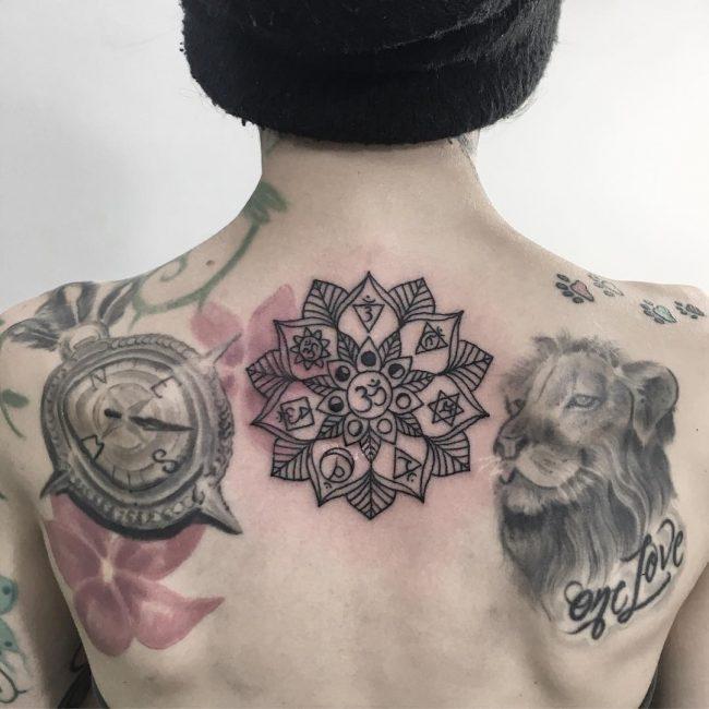 Chakra Tattoo 40