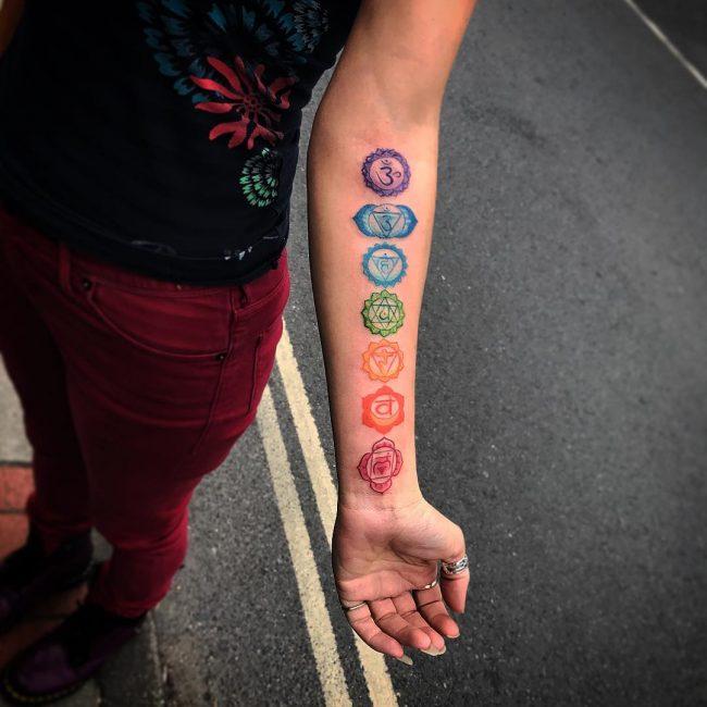 Chakra Tattoo 41