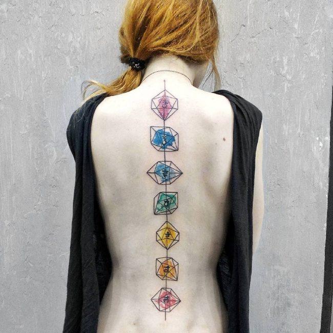 Chakra Tattoo 42