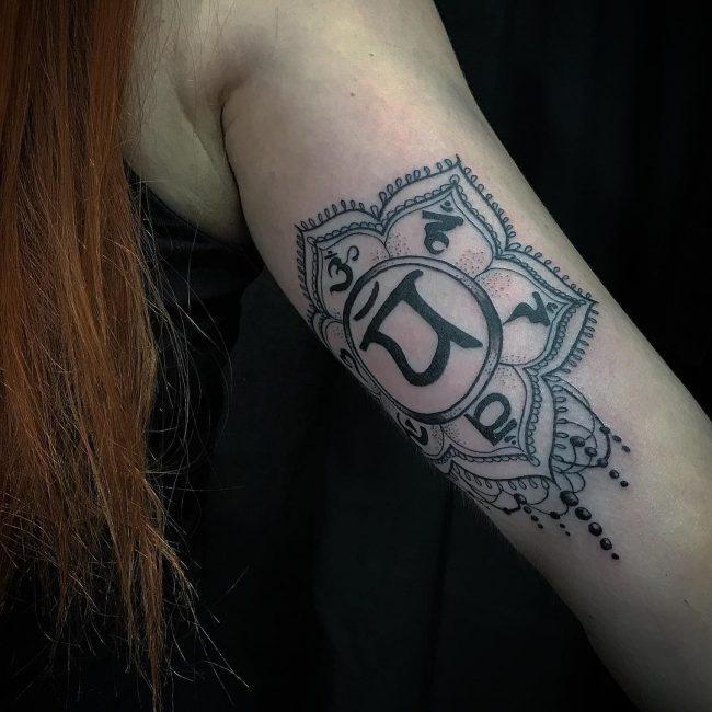 Chakra Tattoo 43