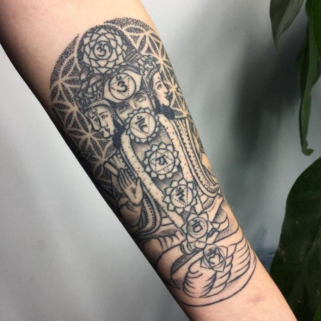 Chakra Tattoo 44