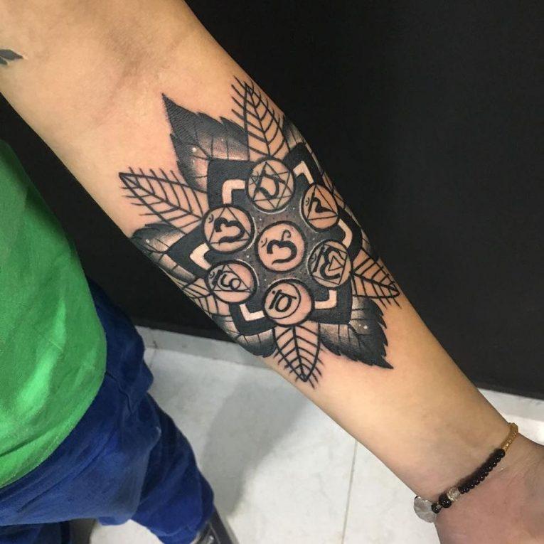 Chakra Tattoo 46