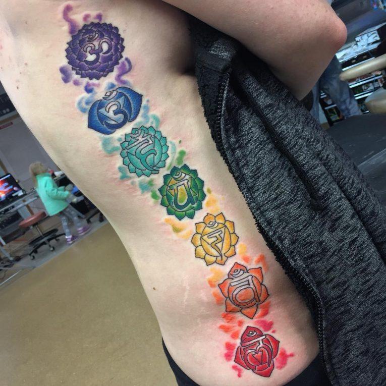Chakra Tattoo 50