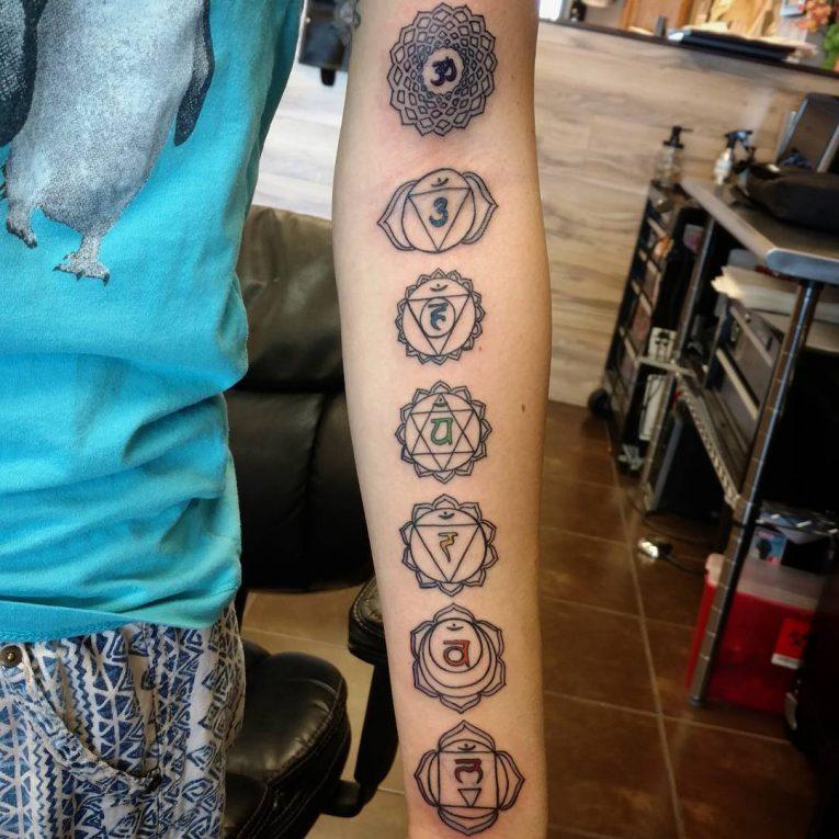 Chakra Tattoo 53