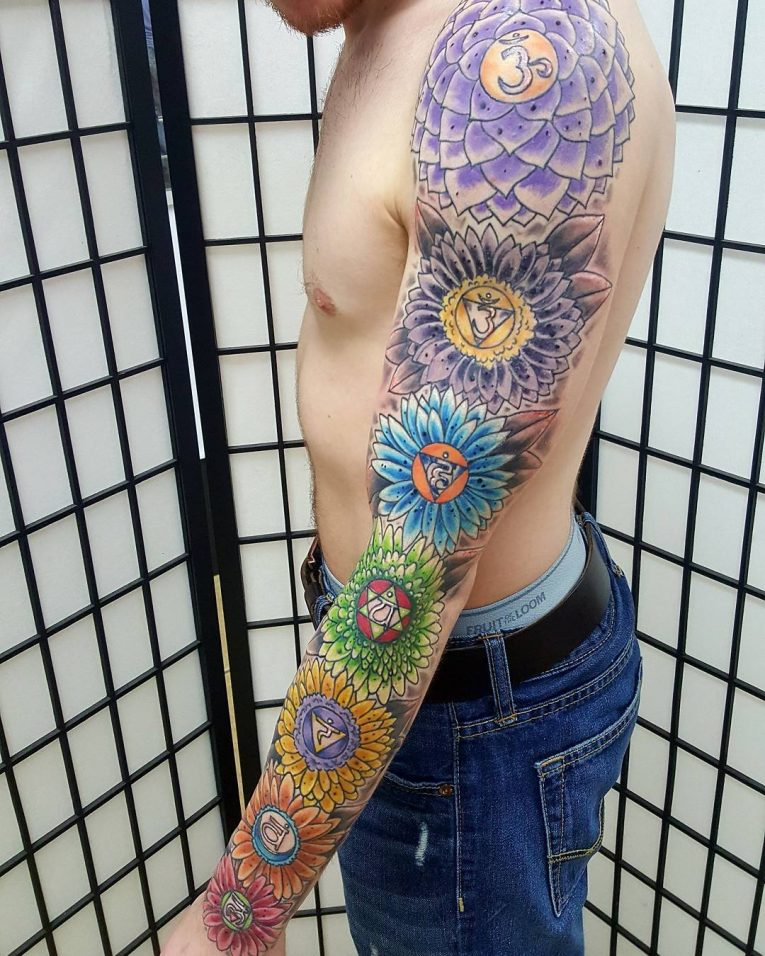 55 Energizing Chakra Tattoo Designs Focus Your Energy