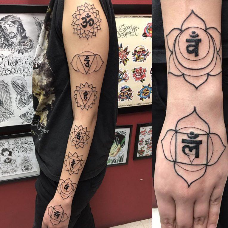Chakra Tattoo 56