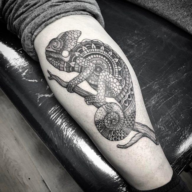 Chameleon Tattoo 41