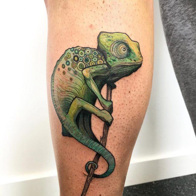 Chameleon Tattoo 49