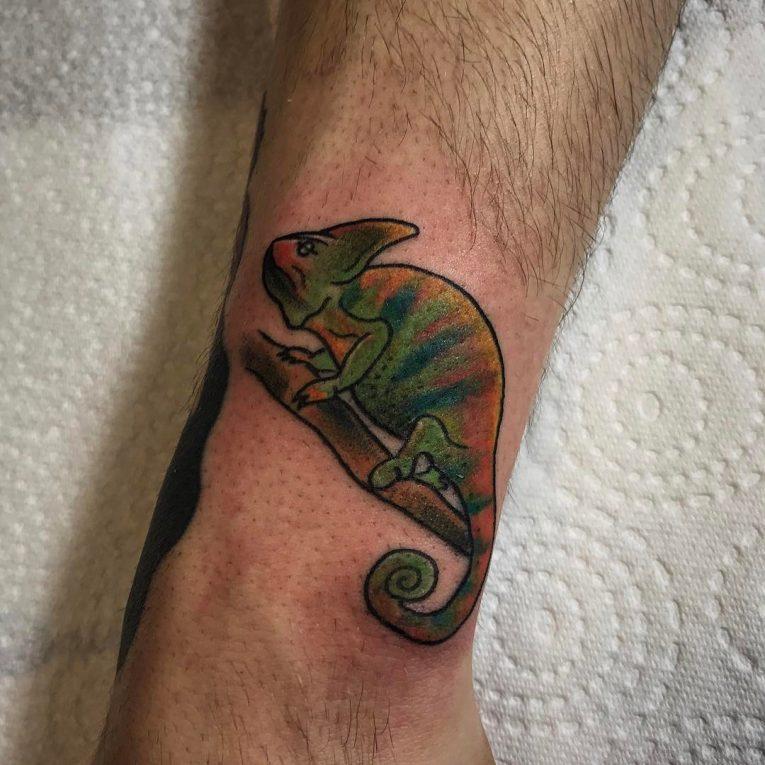 Chameleon Tattoo 59